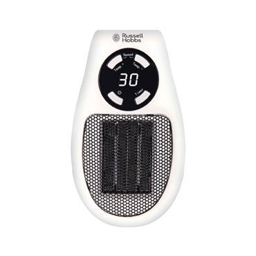 Russell Hobbs 500w Ceramic Plug Heater