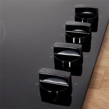 Indesit 60cm Electric Ceramic Hob Black