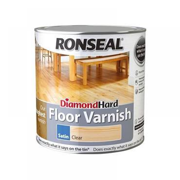 Ronseal Diamond Hard Floor Varnish Gloss Clear 5L