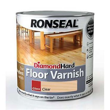 Ronseal Diamond Hard Floor Varnish Mellow Gloss 2.5L