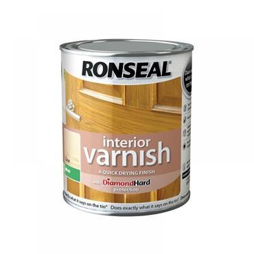 Ronseal Interior Varnish Matt Clear 2.5L