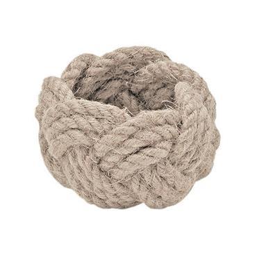 Rope Napkin Ring Linen (Set of 4)