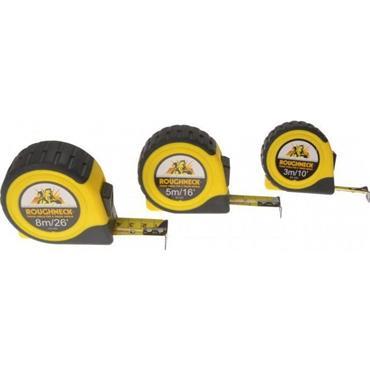 Roughneck Measure Tapes 3pk