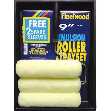 Fleetwood Emulsion Roller & Tray Set