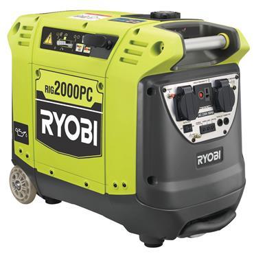 Ryobi RIG2000PC Petrol Inverter Generator 2000w