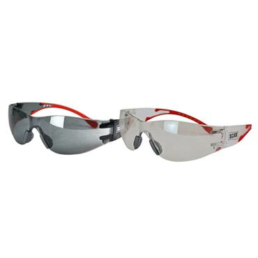 Scan Flexi Spectacles Clear & Smoke Twin Pack