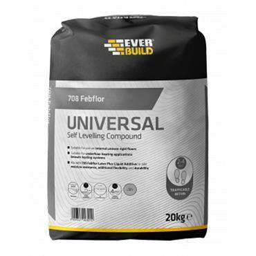 Everbuild 708 Febflor Universal Self Levelling Compound 20kg