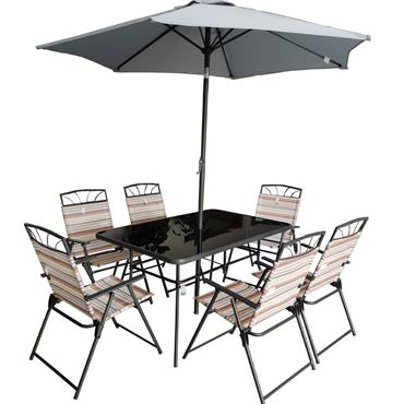 Seville 6 Seater Dining Set