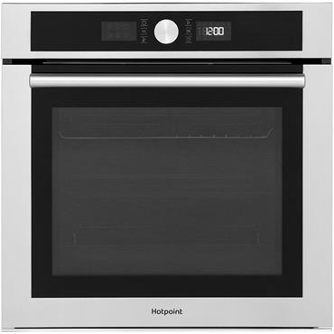 Hotpoint Pyro Single Oven Stainless Steel