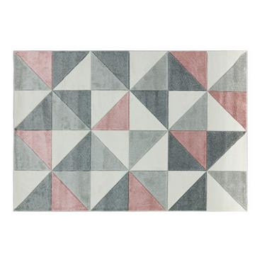 Sketch Cubic Pink Rug 120x170