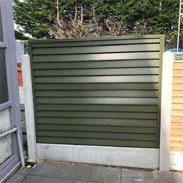 Smartfence Panel Olive Green