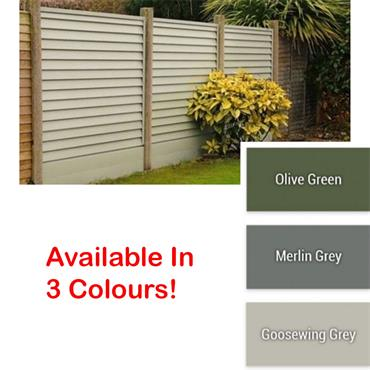 Smartfence Panel Olive Green