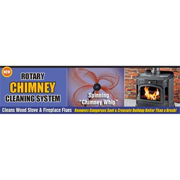 SootEater Rotary Chimney Cleaning Kit