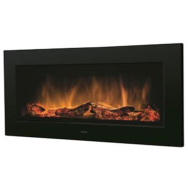 Dimplex Optiflame Wall Mounted Electric Fire Black
