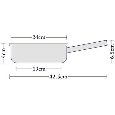 Stellar Rocktanium 24cm Frying Pan Non Stick