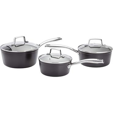 Stellar Rocktanium Saucepan Set 3pc