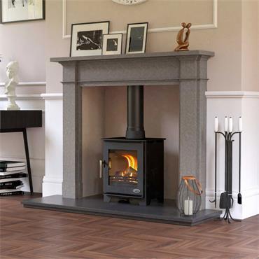 Henley Stoves Dalewood Compact Woodburning Stove Matt Black