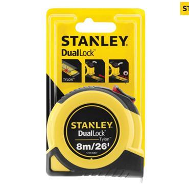 Stanley DualLock Tylon Pocket Tape 8m