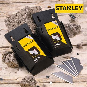 Stanley Trimming Knife Blade Pack 100pce