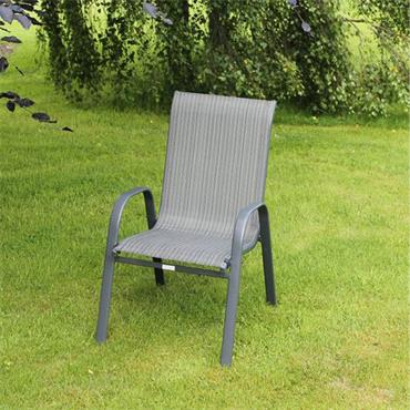 Garden Charcoal Stacking Chair