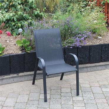 Garden Navy Stacking Chair
