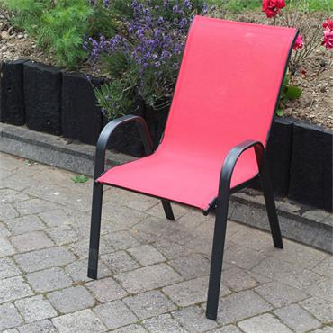 Garden Red Stacking Chair