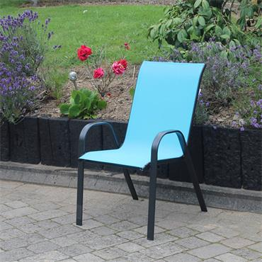Garden Teal Stacking Chair