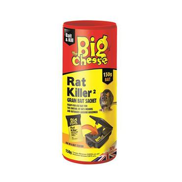 The Big Cheese Rat Killer Grain Bait Sachet 150g