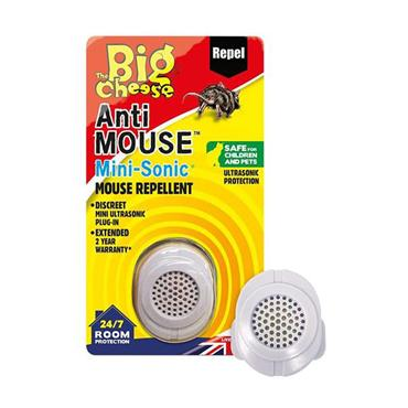 The Big Cheese Anti Mouse Mini Sonic Repellent