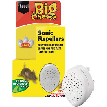 The Big Cheese Mouse & Rat Repeller 3pk