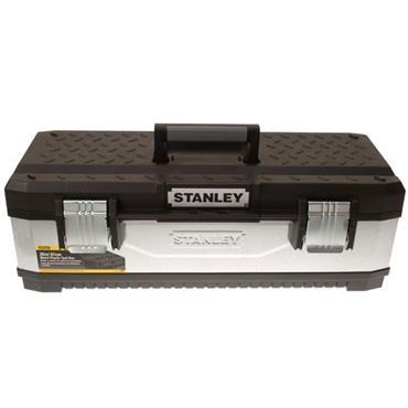 Stanley Galvanised Metal Toolbox 66cm
