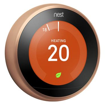 Google Nest Learning Thermostat Copper