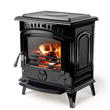 Waterford Stanley Tara Non-Boile 8 KW Solid -Fuel  Stove Black Enamel