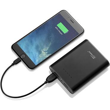 Techlink 13600 Dual USB Portable Charger Black