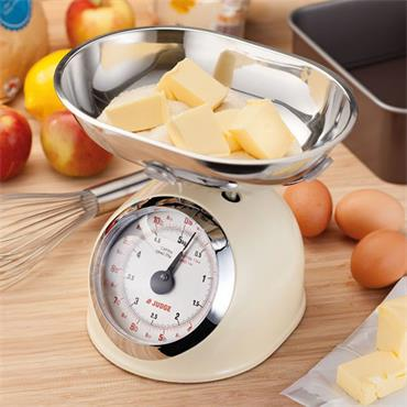 Judge Kitchen 5kg Traditional Scale Cream