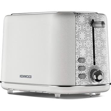Kenwood Abbey 2 Slice Toaster 3kw Stone Cream