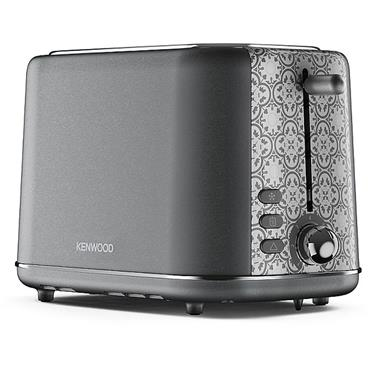 Kenwood Abbey 2 Slice Toaster 3kw Slate Grey