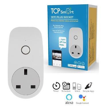 Tcp Smart Wifi Socket With Energy Monitor (Google/Alexa)