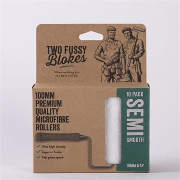 Two Fussy Blokes 100mm 10 Pack Sleeves (10mm)