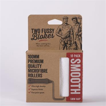 Two Fussy Blokes 100mm 10 Pack Sleeves (5mm)