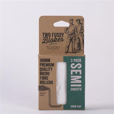 Two Fussy Blokes 100mm 3 Pack Sleeves (10mm)
