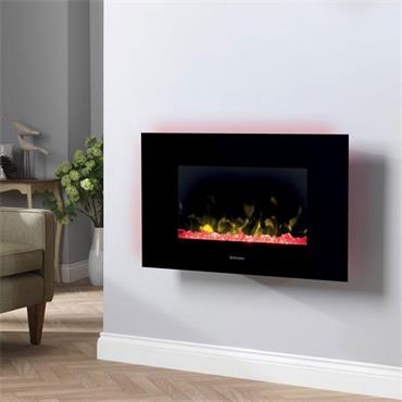 Toluca De Luxe 2Kw Wall Hung Electric Fire