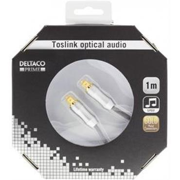 Deltaco Toslink To Toslink Cable 1m