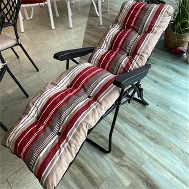 Luxury Padded Relaxer Sunchair