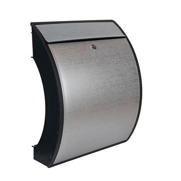 Burg Wachter  Post Box Turn Anthracite & Stainless Look Polymer