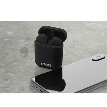 Streetz True Wireless Earbuds Black