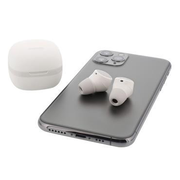 Streetz True Wireless Earbuds White
