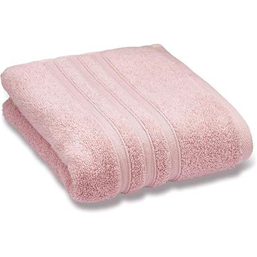 Catherine Lansfield Zero Twist Pink Bath Sheet