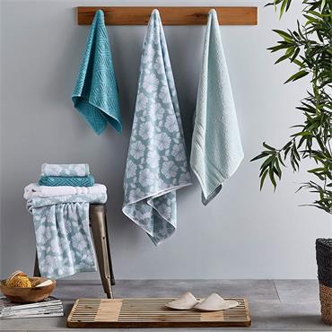 Catherine Lansfield Zero Twist Duck Egg Bath Towel