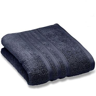 Zero Twist Navy Bath Towel